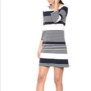 Lilly Pulitzer Navy & White Bay Jacquard dress NWT